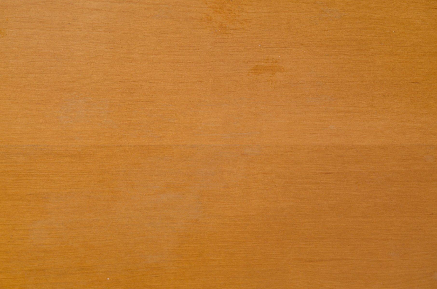 Birch Coffee Table By Cees Braakman For Pastoe 1950s En