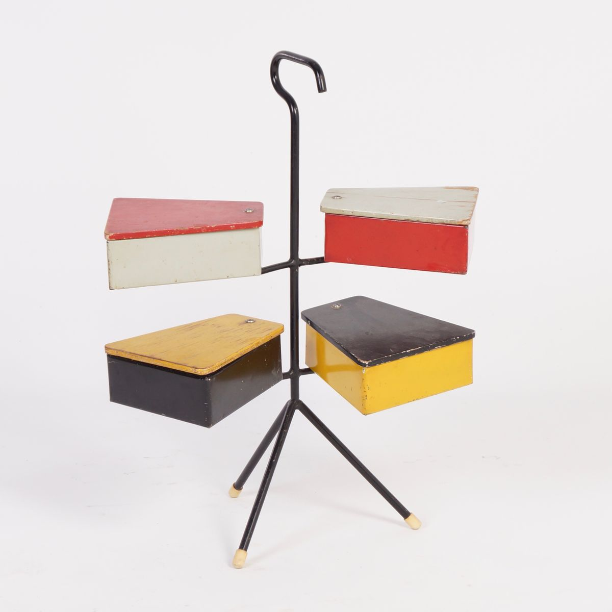 Bo te couture par joost teders pour metalux 1950s en for Boite a couture moderne
