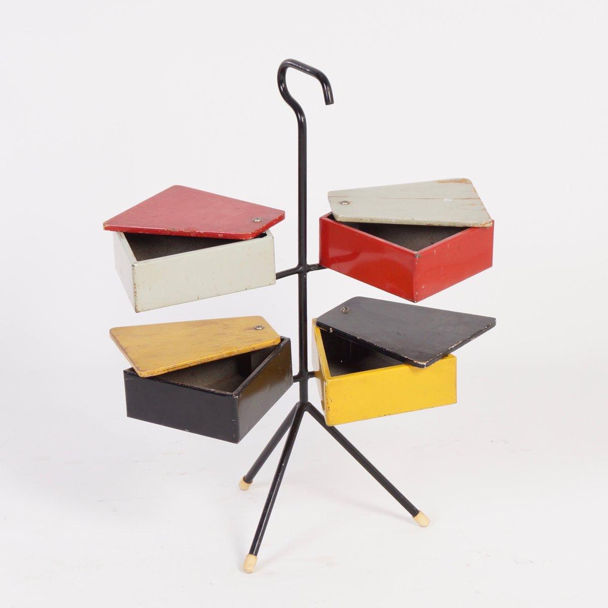 n hkasten von joost teders f r metalux 1950er bei pamono. Black Bedroom Furniture Sets. Home Design Ideas