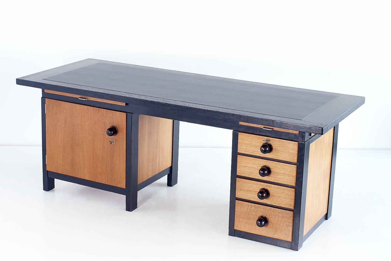 Architect 39 s desk by frits spanjaard 1932 for sale at pamono for Architecte desl definition