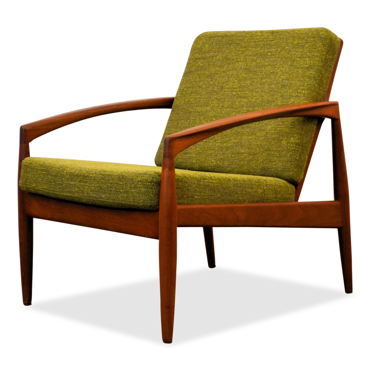 Model 121 Teak Lounge Chair By Kai Kristiansen For Magnus Olesen 1950s For Sale At Pamono
