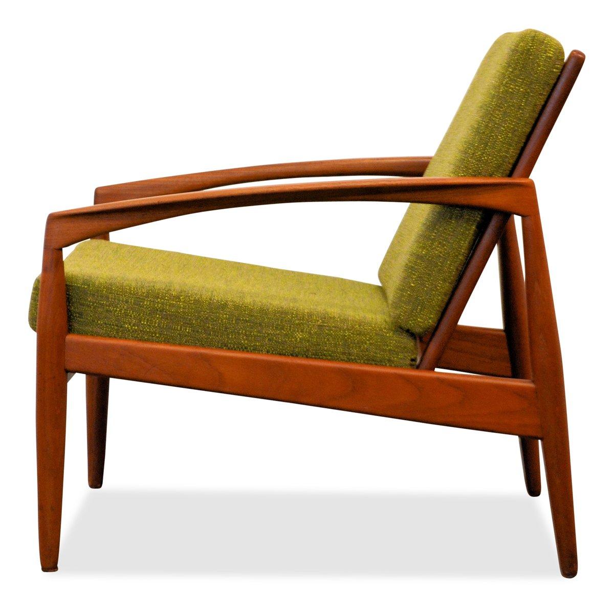 Model 121 Teak Lounge Chair by Kai Kristiansen for Magnus