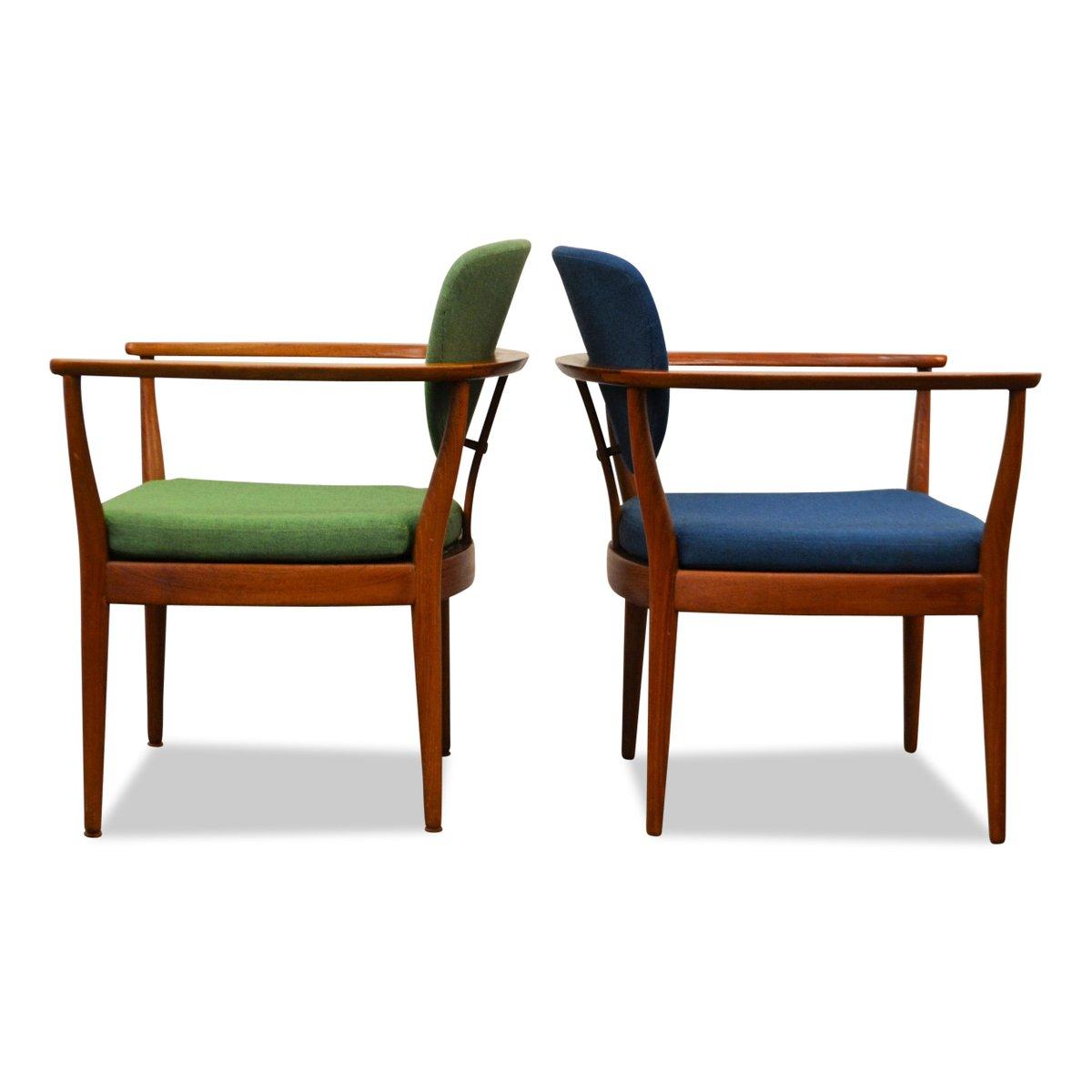 Teak Lounge Chairs - Price per set