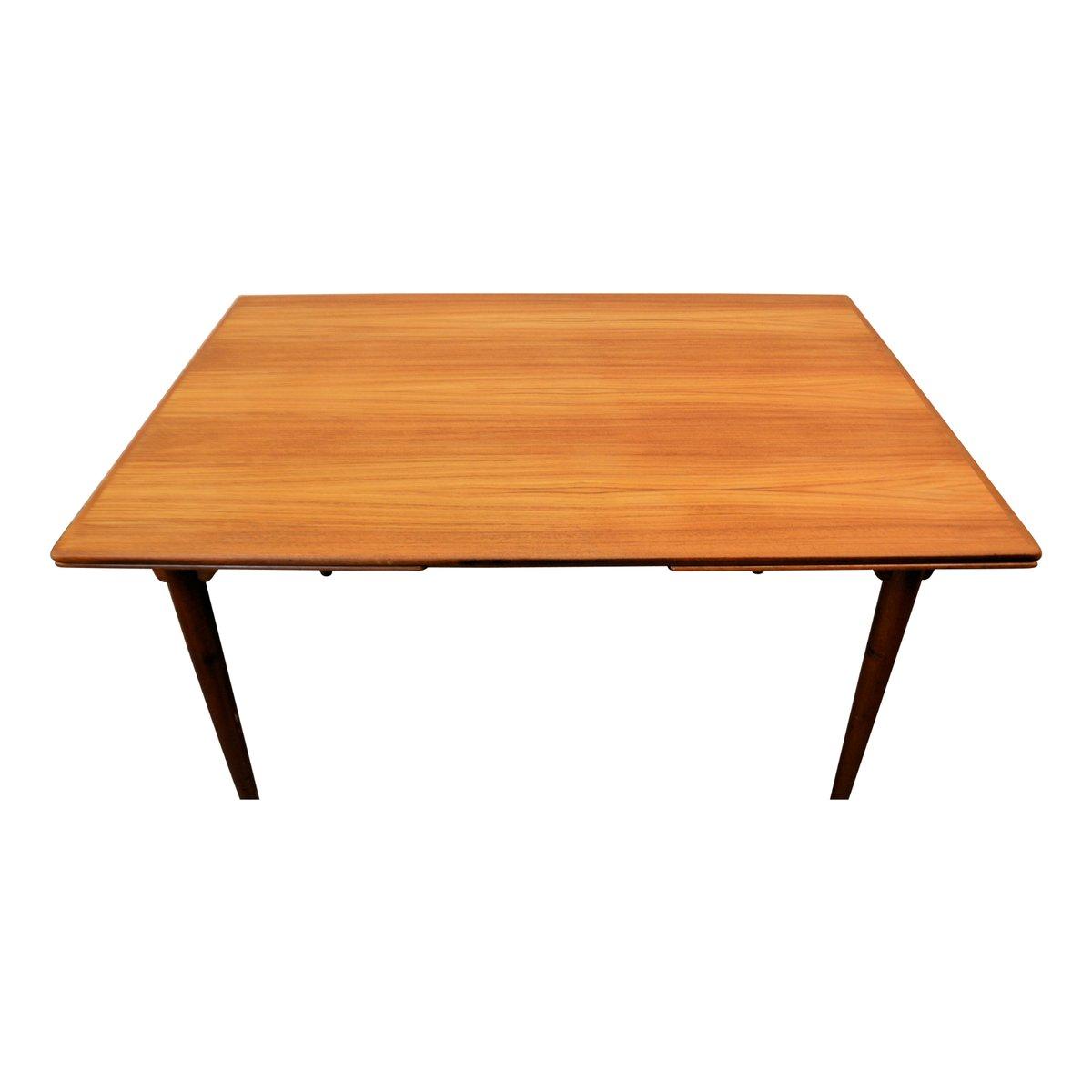 Danish Teak Extendable Dining Table from Omann Juns  : danish teak extendable dining table from omann juns mobelfabrik 1960s 7 from www.pamono.com size 1200 x 1200 jpeg 41kB