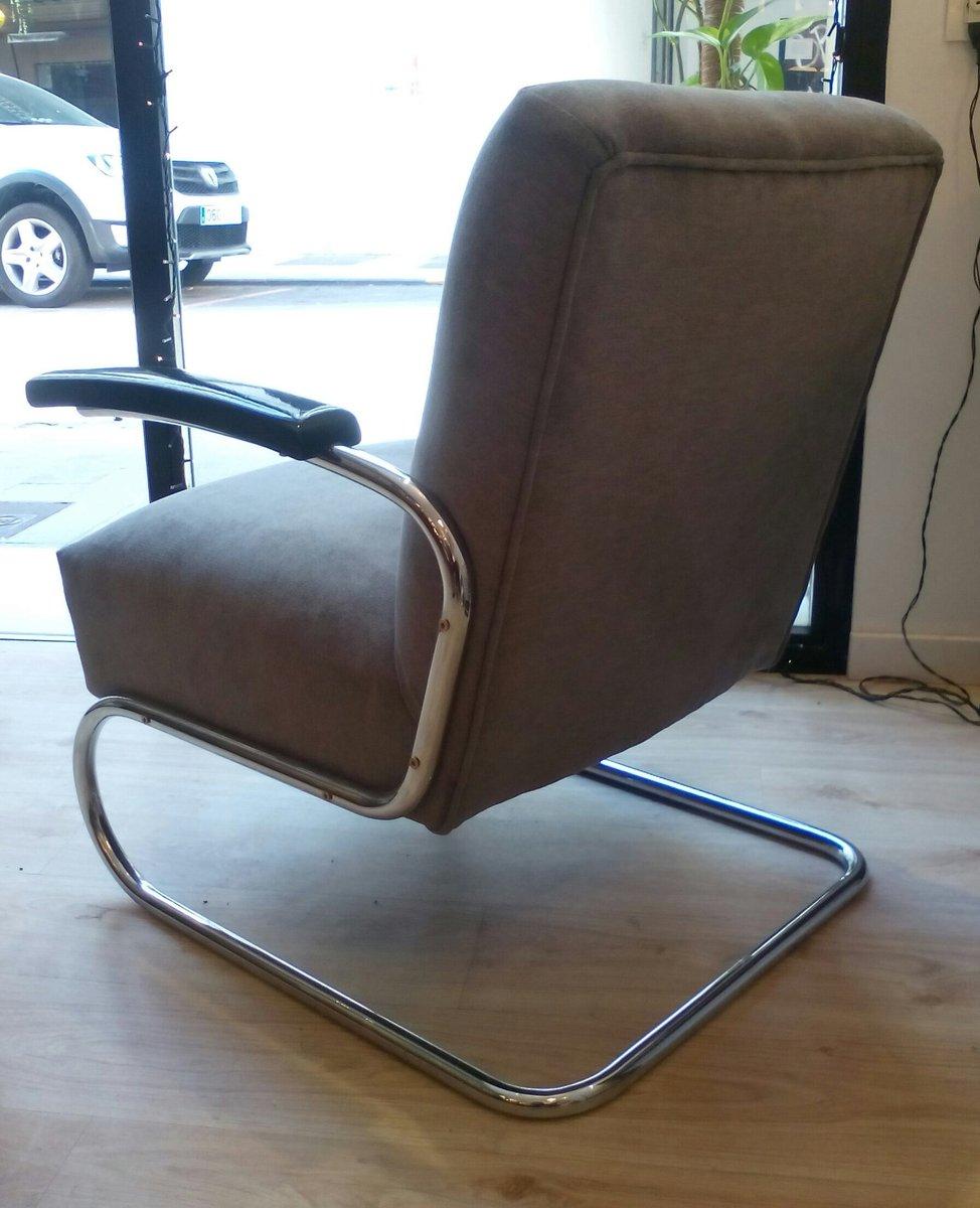bauhaus s411 armchair by michael thonet for thonet 1930s. Black Bedroom Furniture Sets. Home Design Ideas