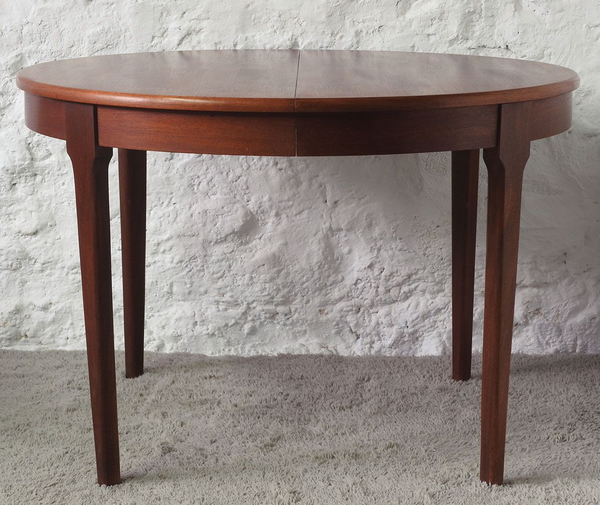 Scandinavian dining room table 1960s for sale at pamono - Dining table scandinavian ...
