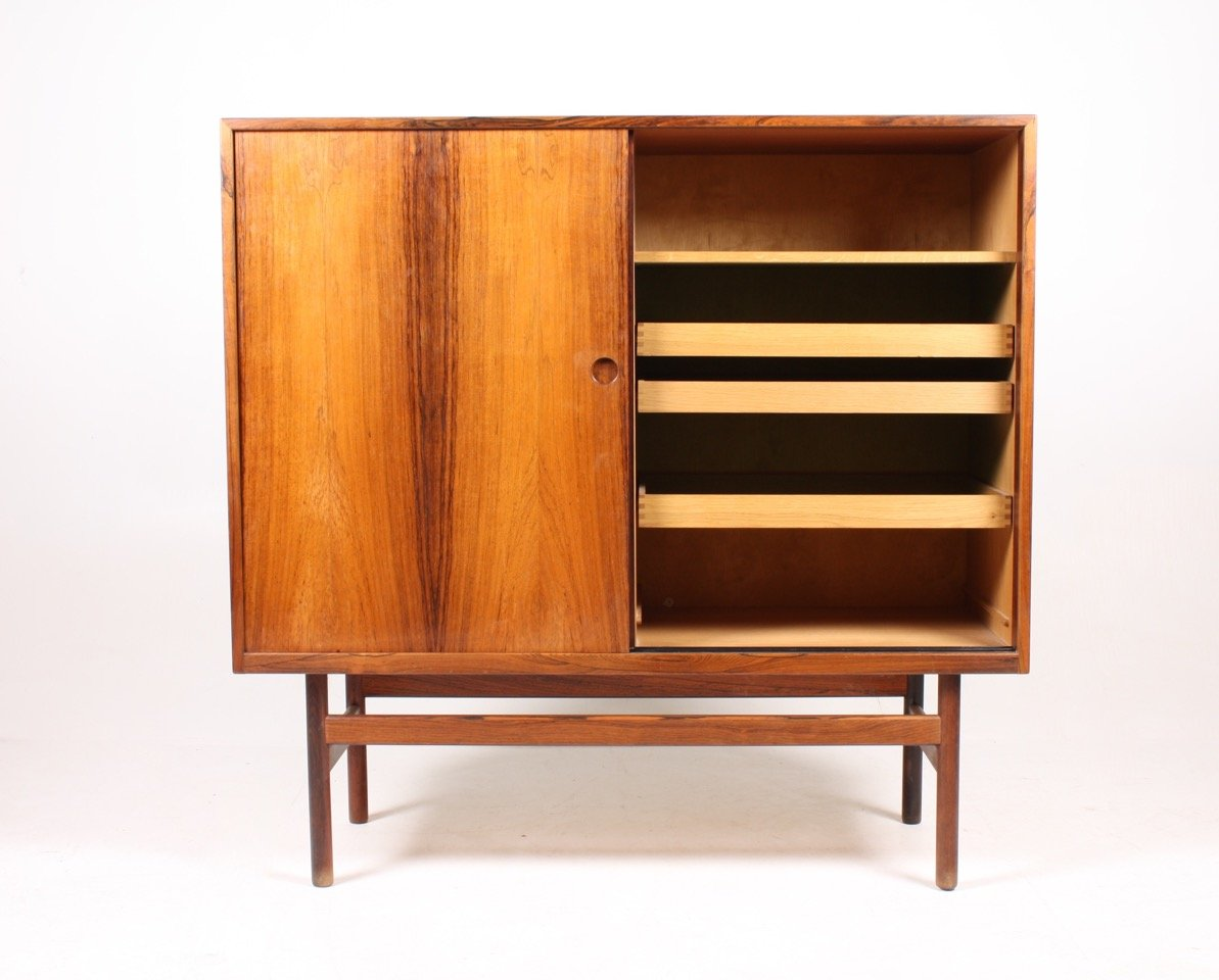 Mid Century Danish Rosewood Cabinet For Sale At Pamono
