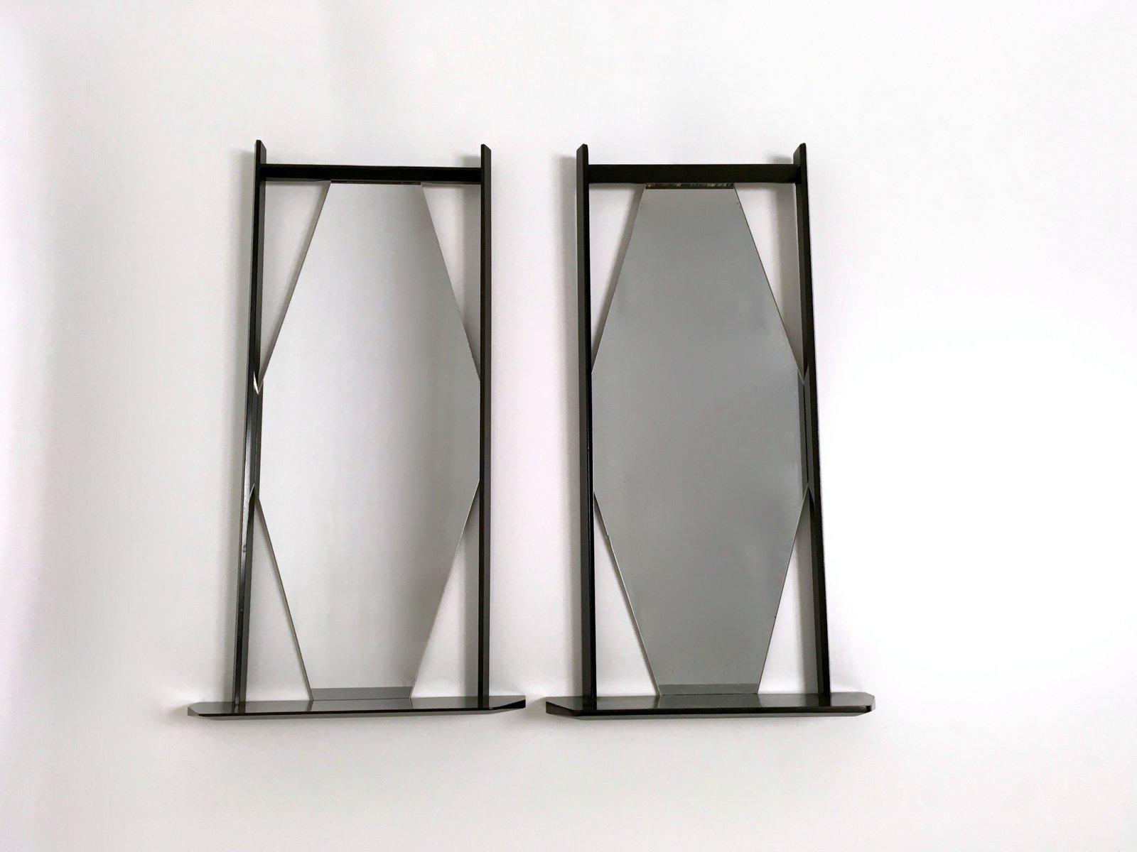 Specchi da parete italia anni 39 60 set di 2 in vendita for Specchi da parete amazon