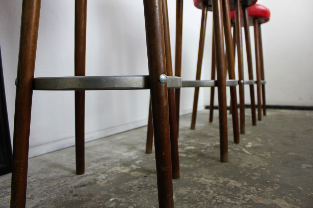 vintage bar stools set retro metal with back for sale perth melbourne
