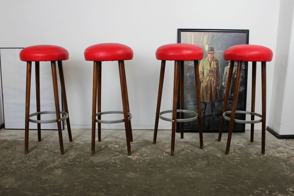 retro metal bar stools with back uk vintage backs set