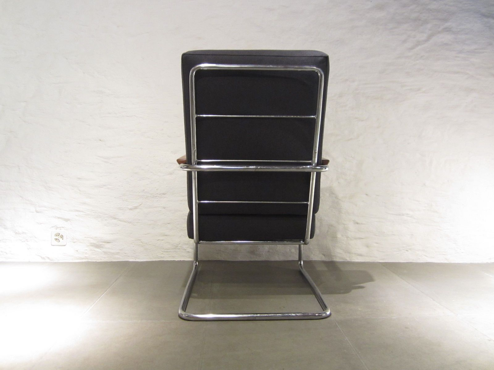 Highback Armchair by Werner Max Moser for Embru 1940 for sale at