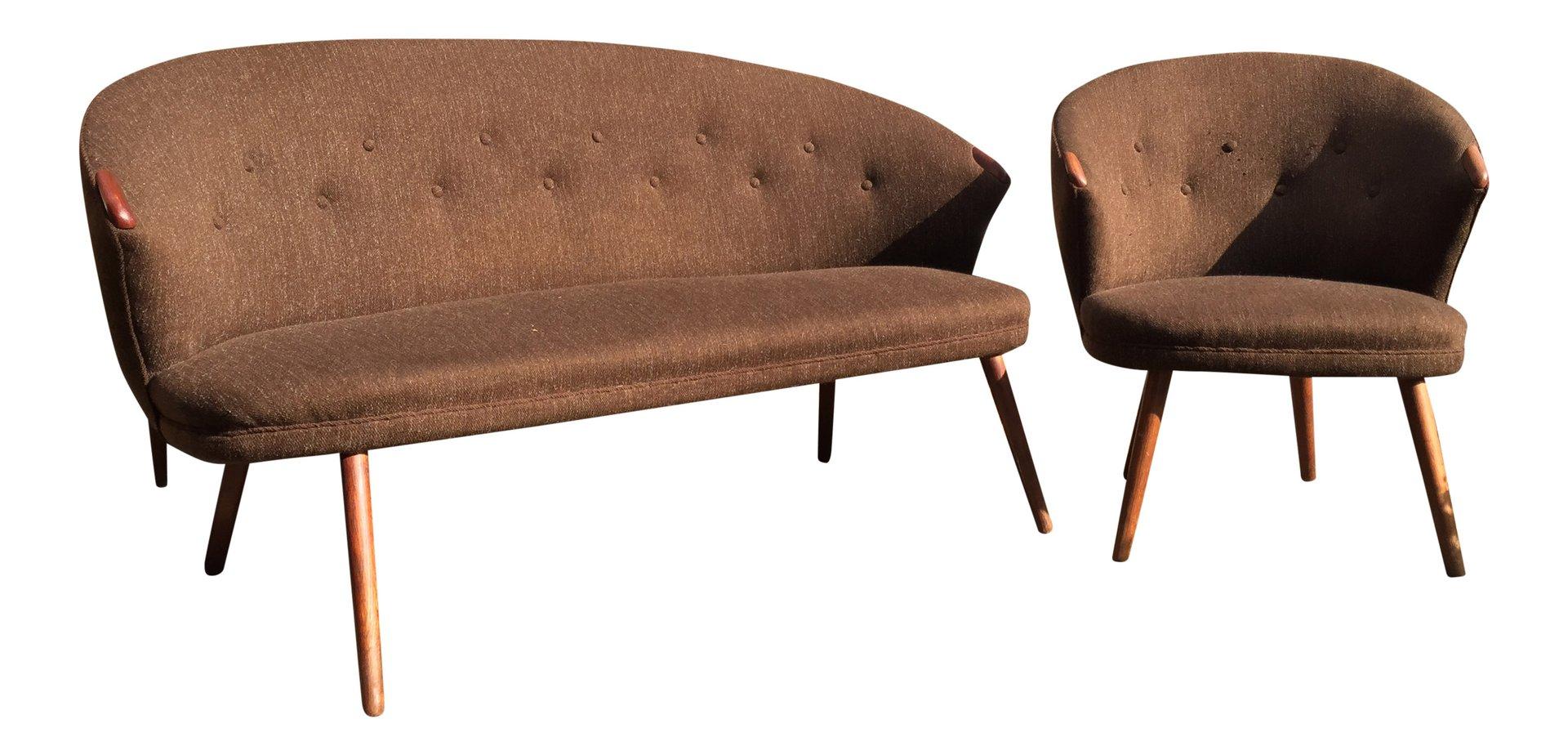 Vintage sofa und sessel 1960er bei pamono kaufen for Vintage sessel berlin