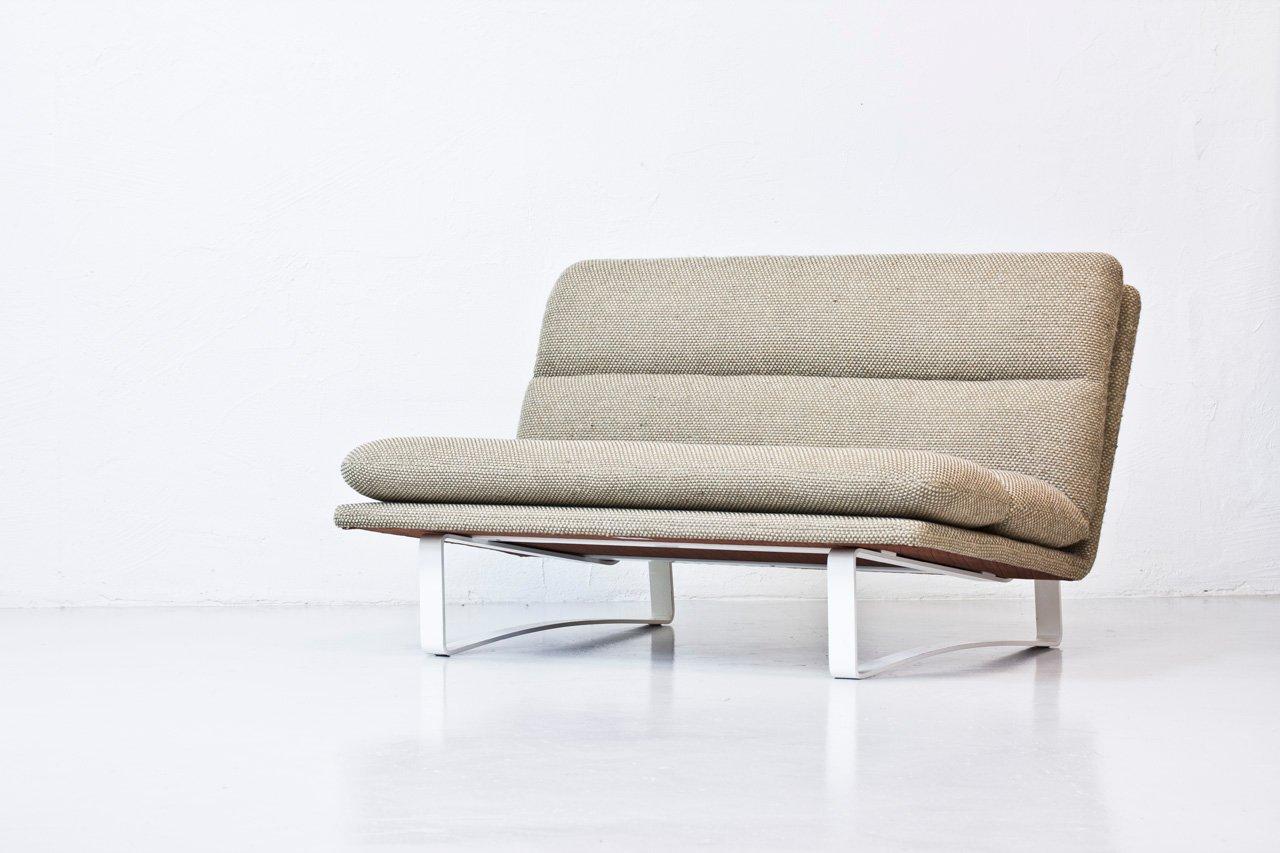 zwei sitzer sofa von kho liang ie f r artifort 1960er bei pamono kaufen. Black Bedroom Furniture Sets. Home Design Ideas