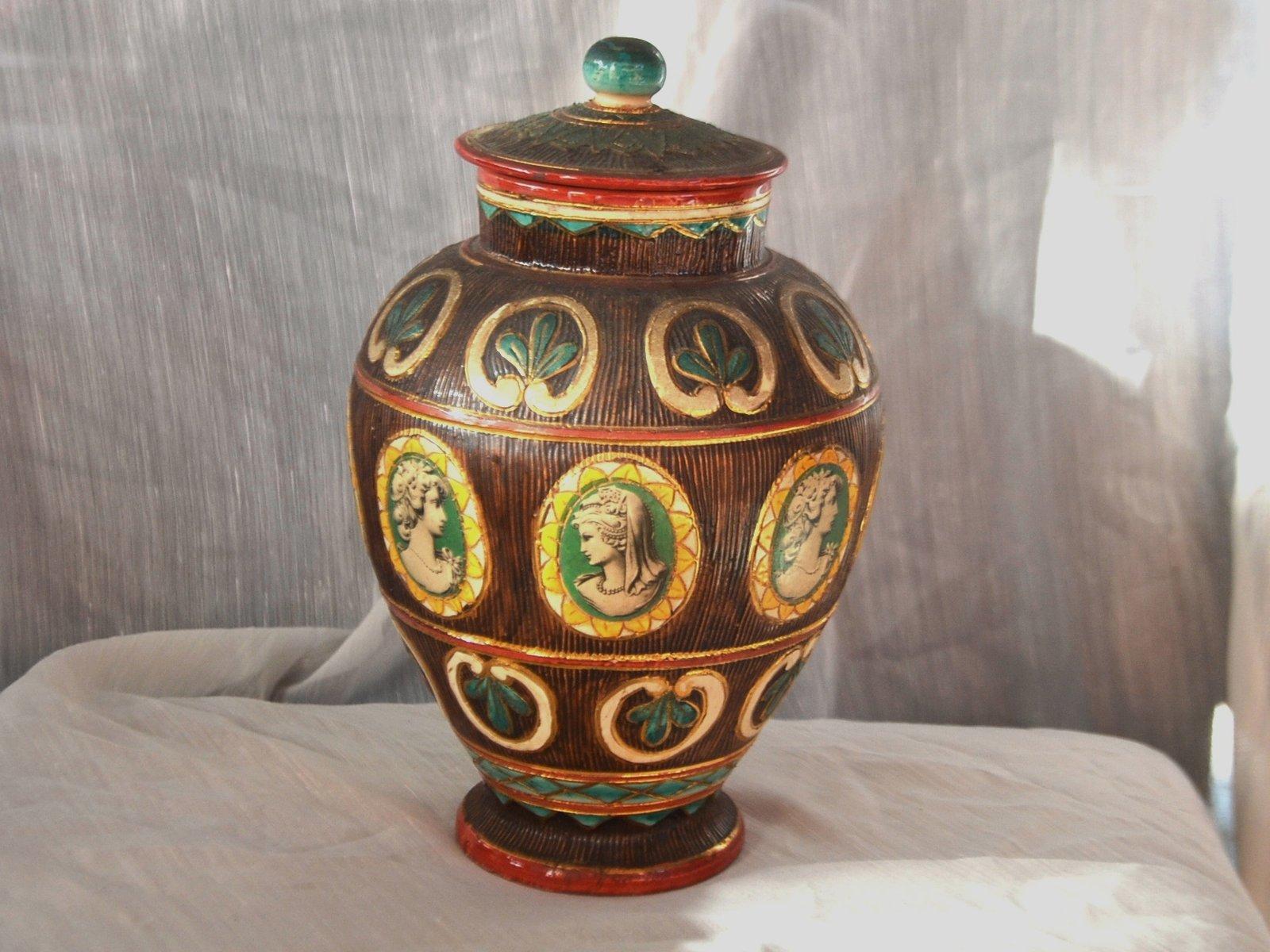 Italian vintage ceramic vase for sale at pamono italian vintage ceramic vase 5 93800 price per piece reviewsmspy