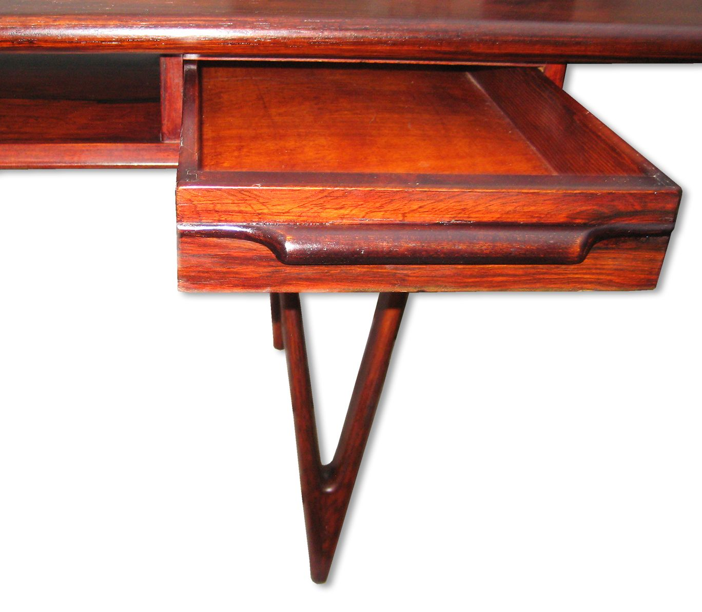 Model 32 Rosewood Coffee Table By E W Bach For Toften Furniture Factory 1960s For Sale At Pamono