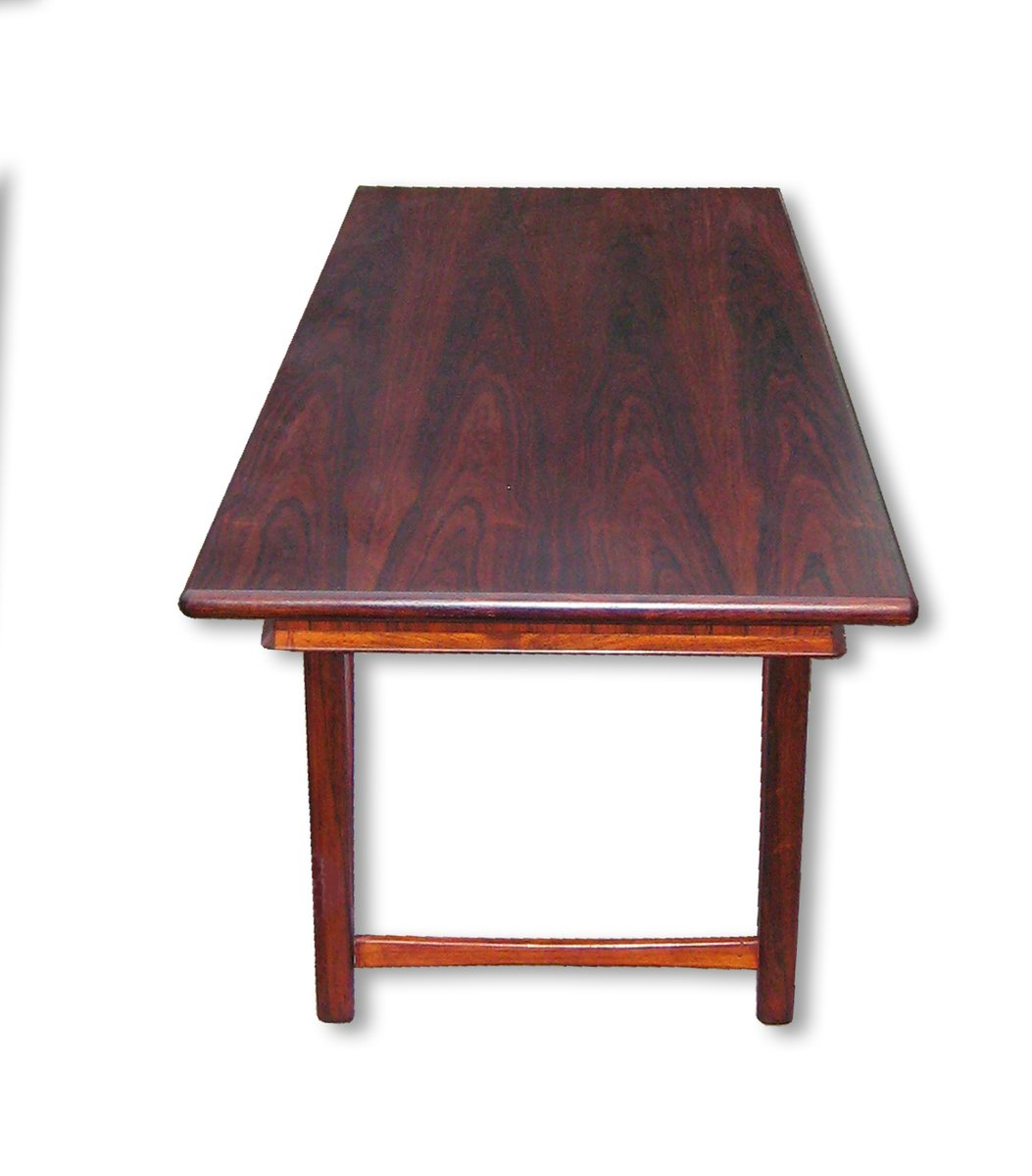 Model 32 Rosewood Coffee Table By E W Bach For Toften