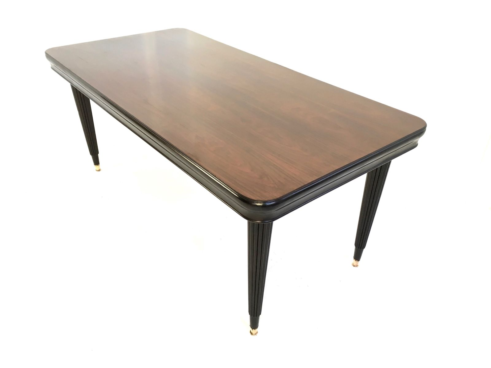 Rosewood Dining Table Italian Rosewood Dining Table 1940s For Sale At Pamono