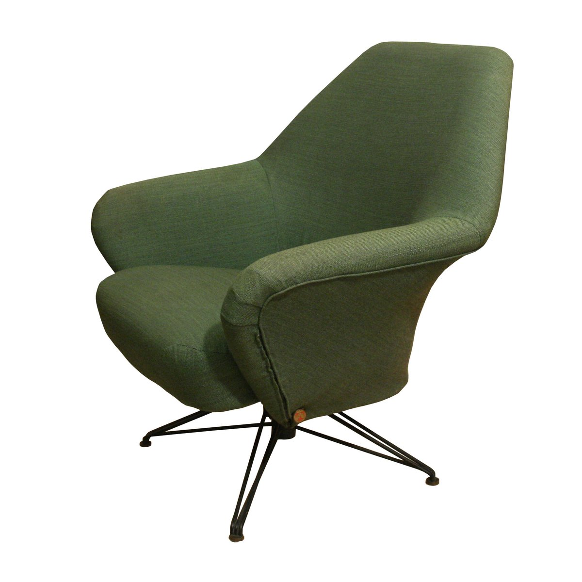 P32 Armchair By Osvaldo Borsani For Tecno 1962 For Sale