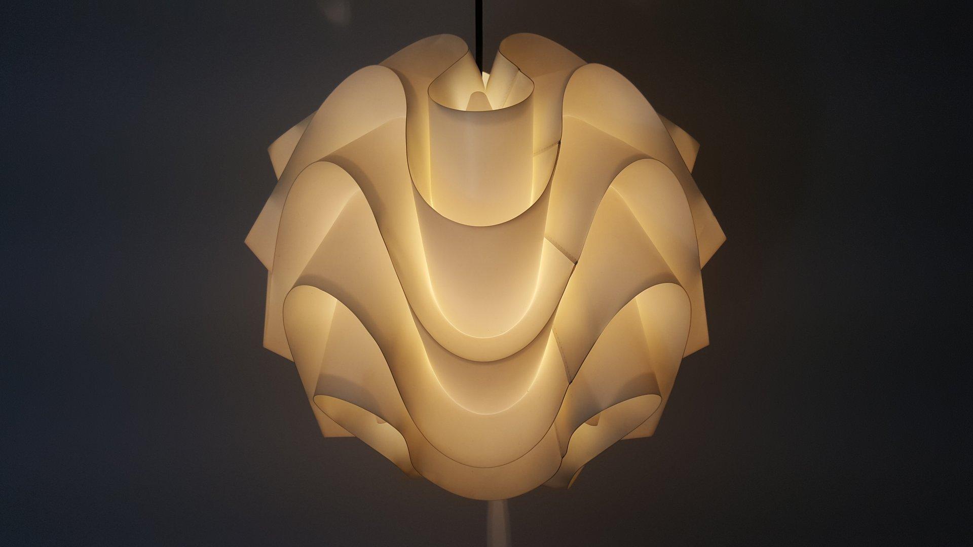 klint lighting.  klint vintage model 172 pendant by poul christiansen for le klint inside lighting e