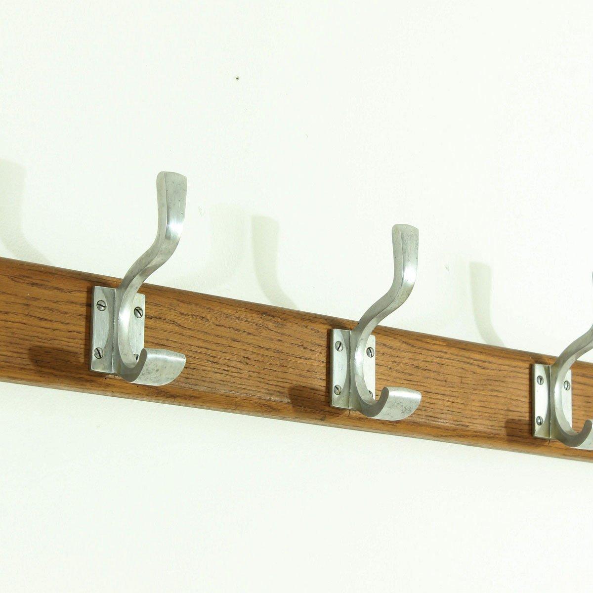 art deco wallmounted coat rack 1930s