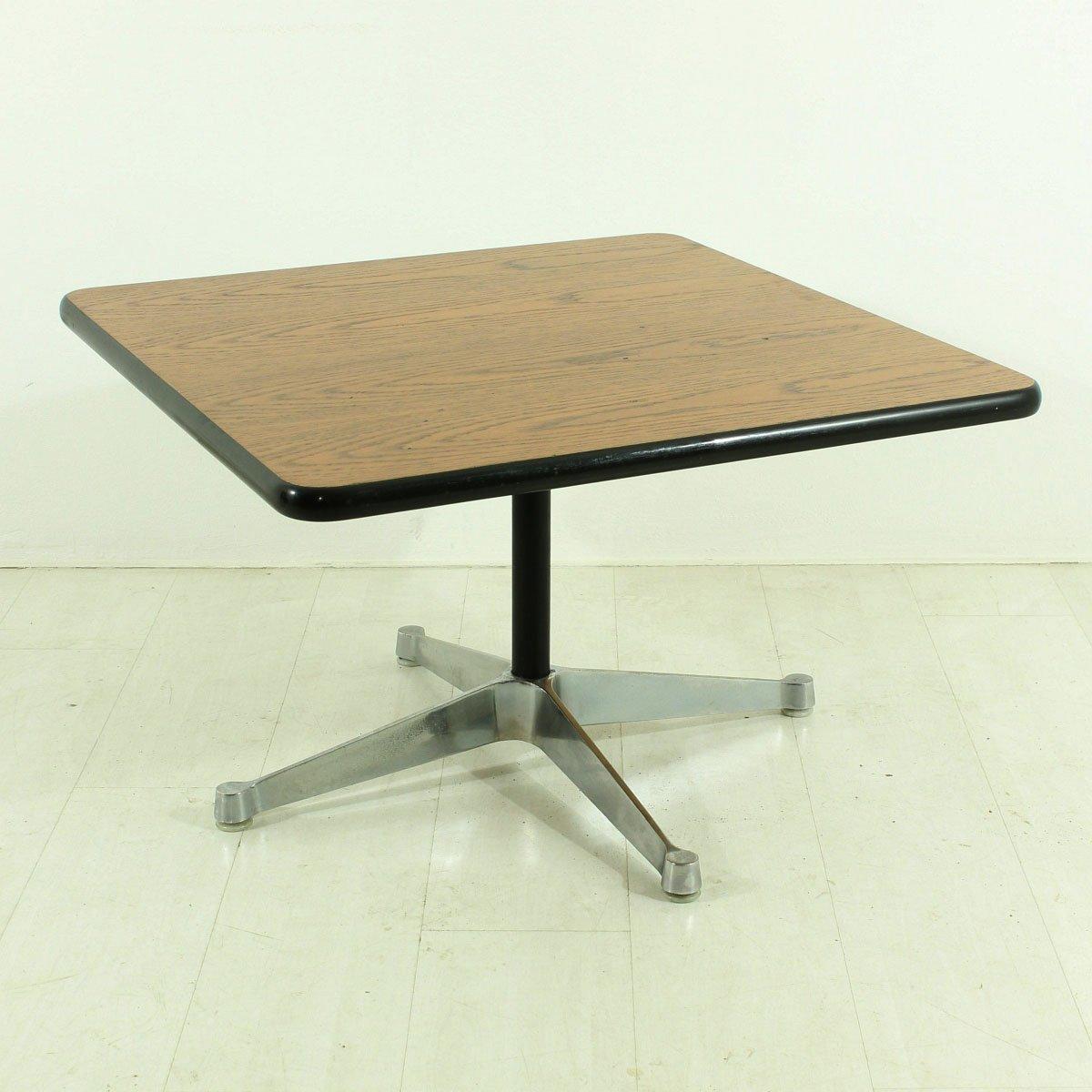 table basse vintage par charles ray eames pour vitra en. Black Bedroom Furniture Sets. Home Design Ideas