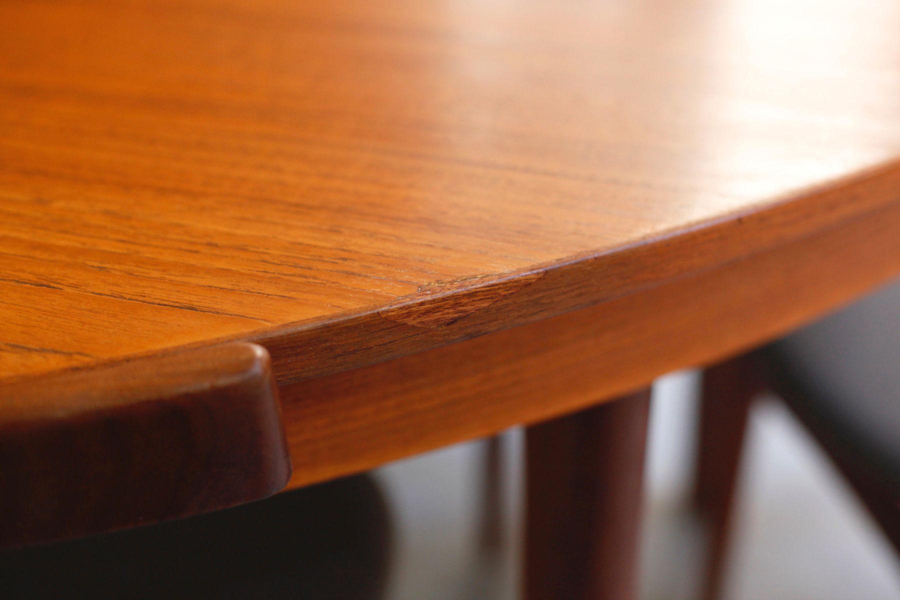 Teak Dining Table Set by Hans Olsen for Frem R248jle 1952  : teak dining table set by hans olsen for frem rojle 1952 8 from www.pamono.co.uk size 1800 x 1200 jpeg 91kB