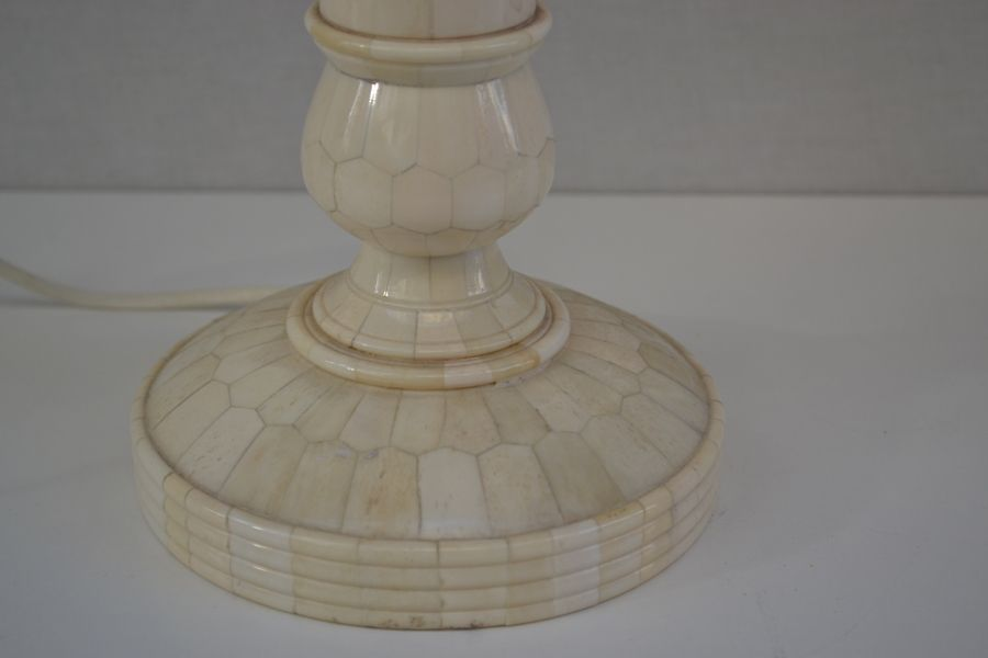 Mother Of Pearl Table Lamp 1950s For Sale At Pamono