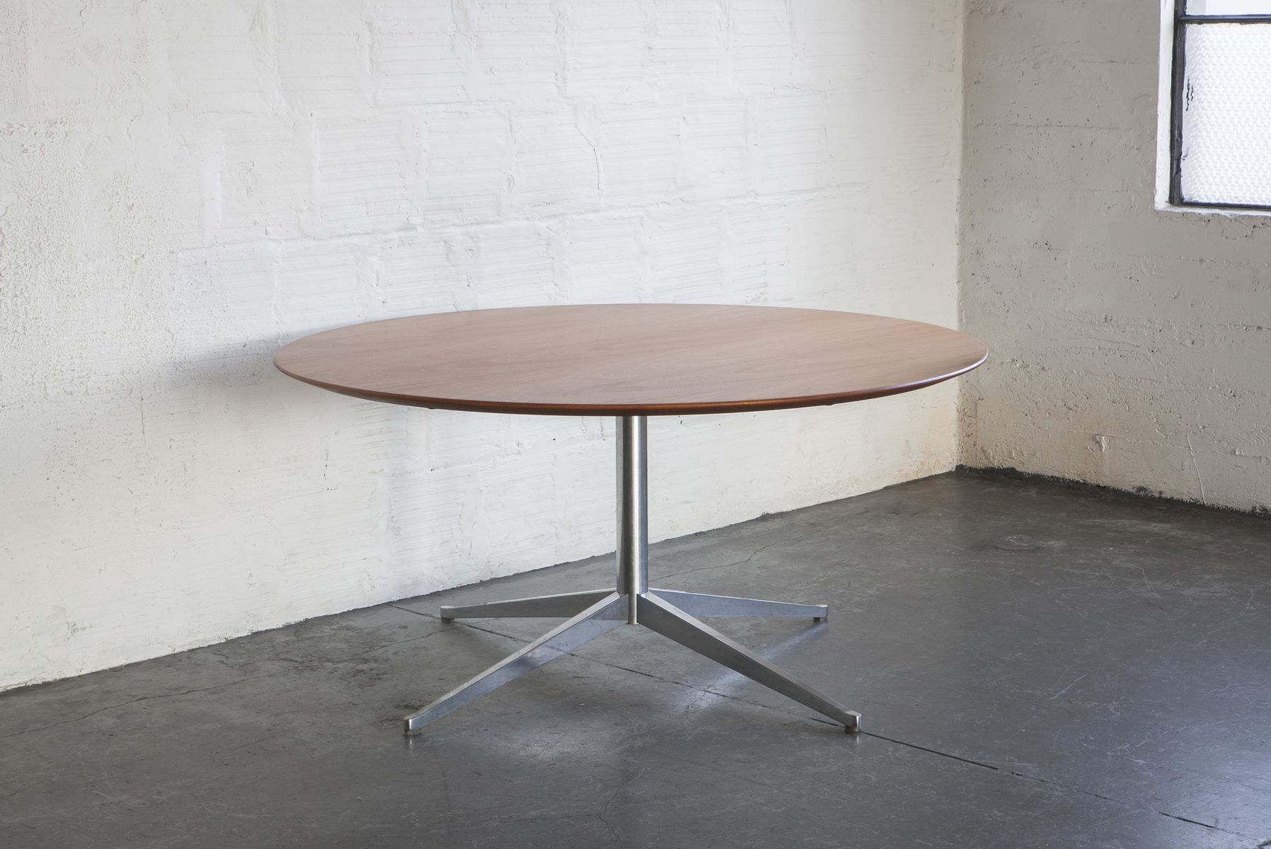 dining table by florence knoll for knoll 1960s for sale. Black Bedroom Furniture Sets. Home Design Ideas