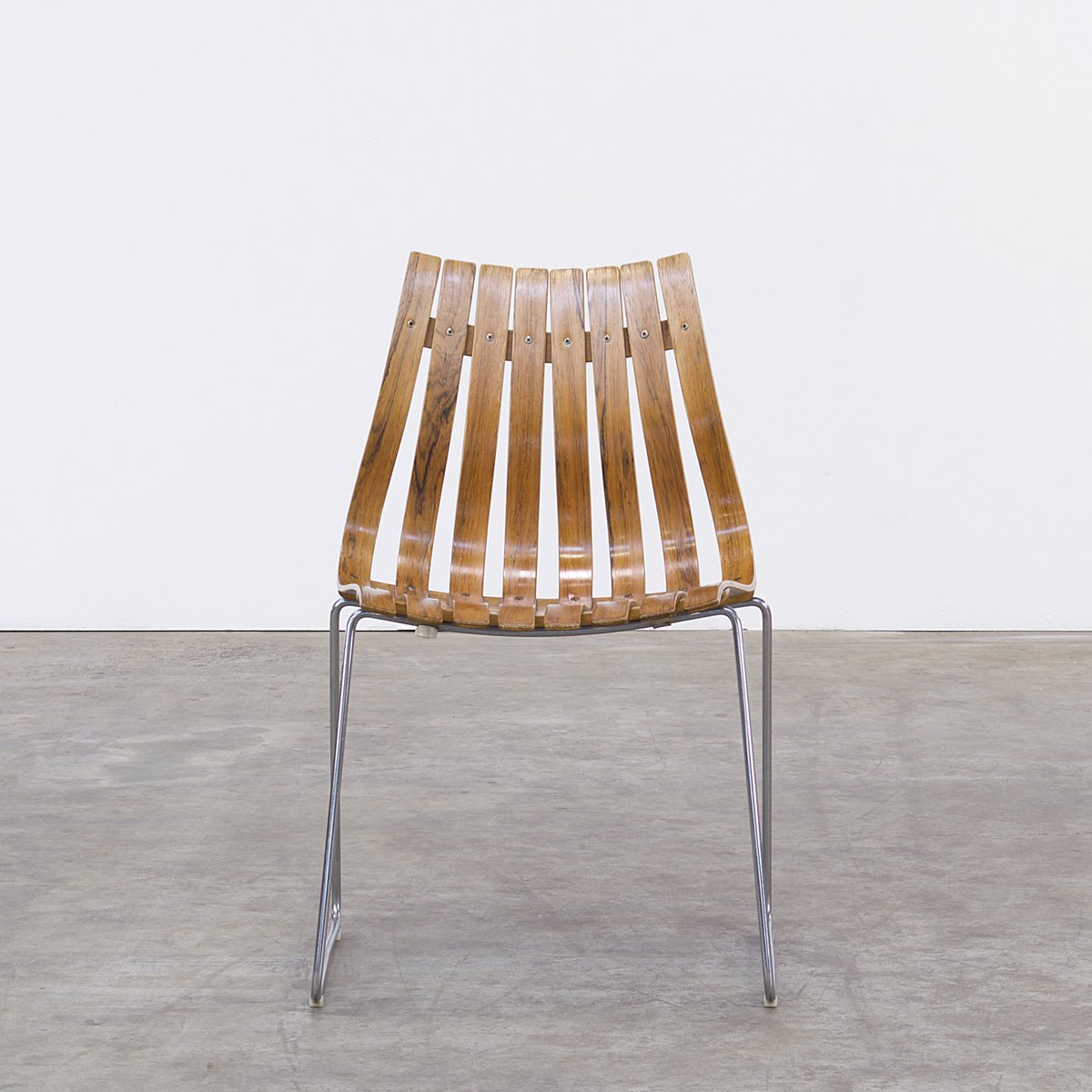 Scandia Chairs by Hans Brattrud for Hove Mbler 1950s Set of 4