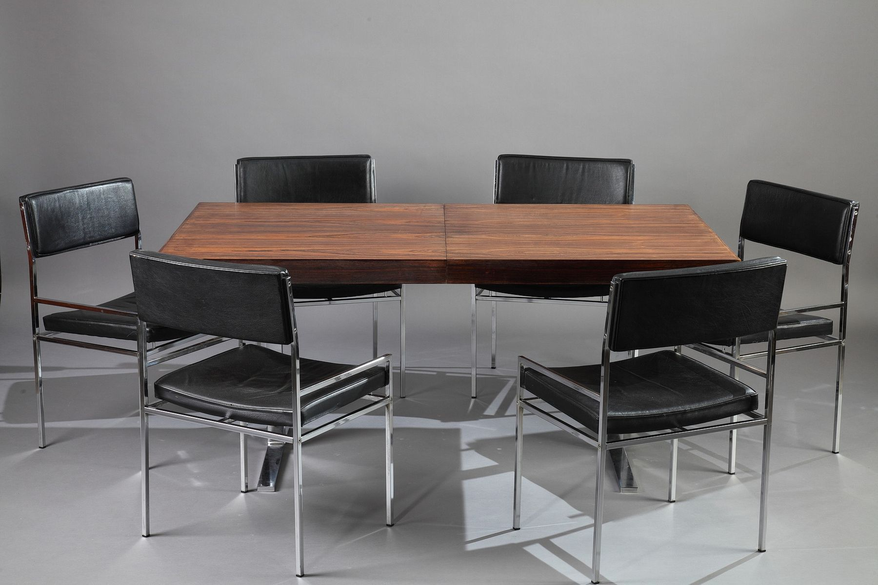 Dining Set by Poul Norreklit 1960s for sale at Pamono