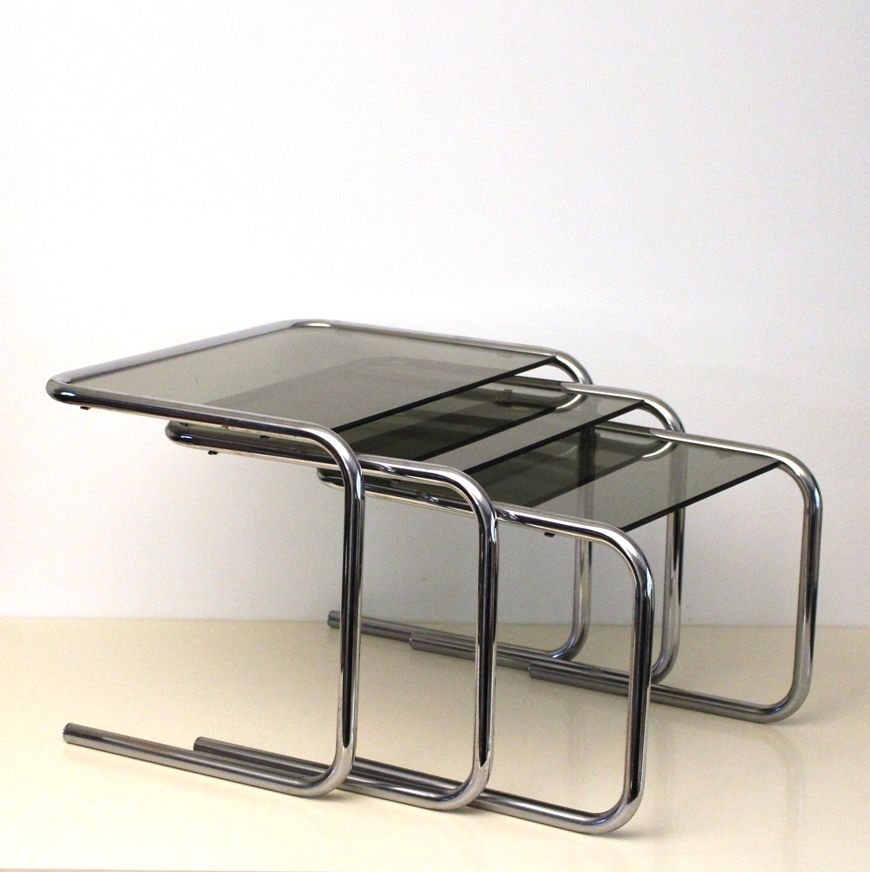 Glass Nesting Tables Massagroupco - Clear nesting tables