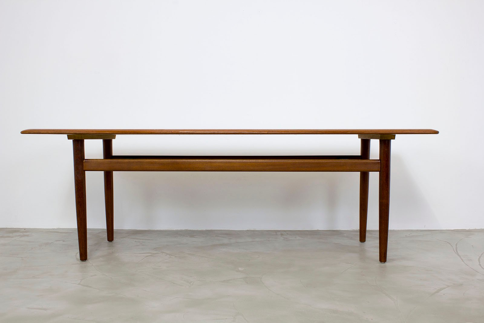 Danish modern teak coffee table 1960s for sale at pamono for Danish modern coffee table