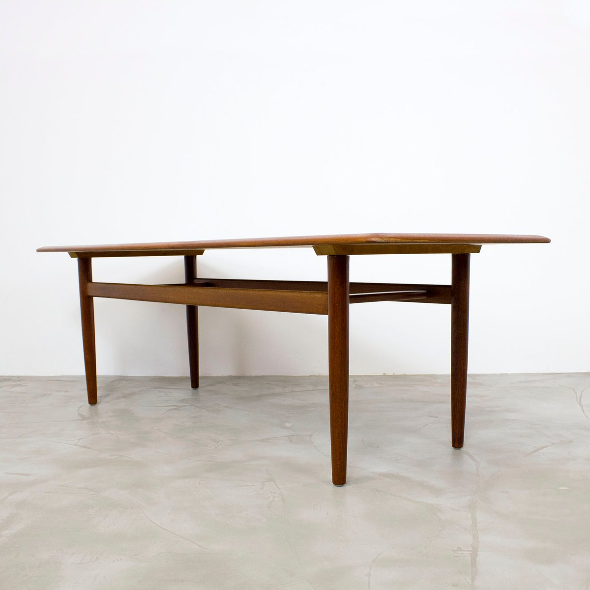 Danish Modern Teak Coffee Table 1960s For Sale At Pamono