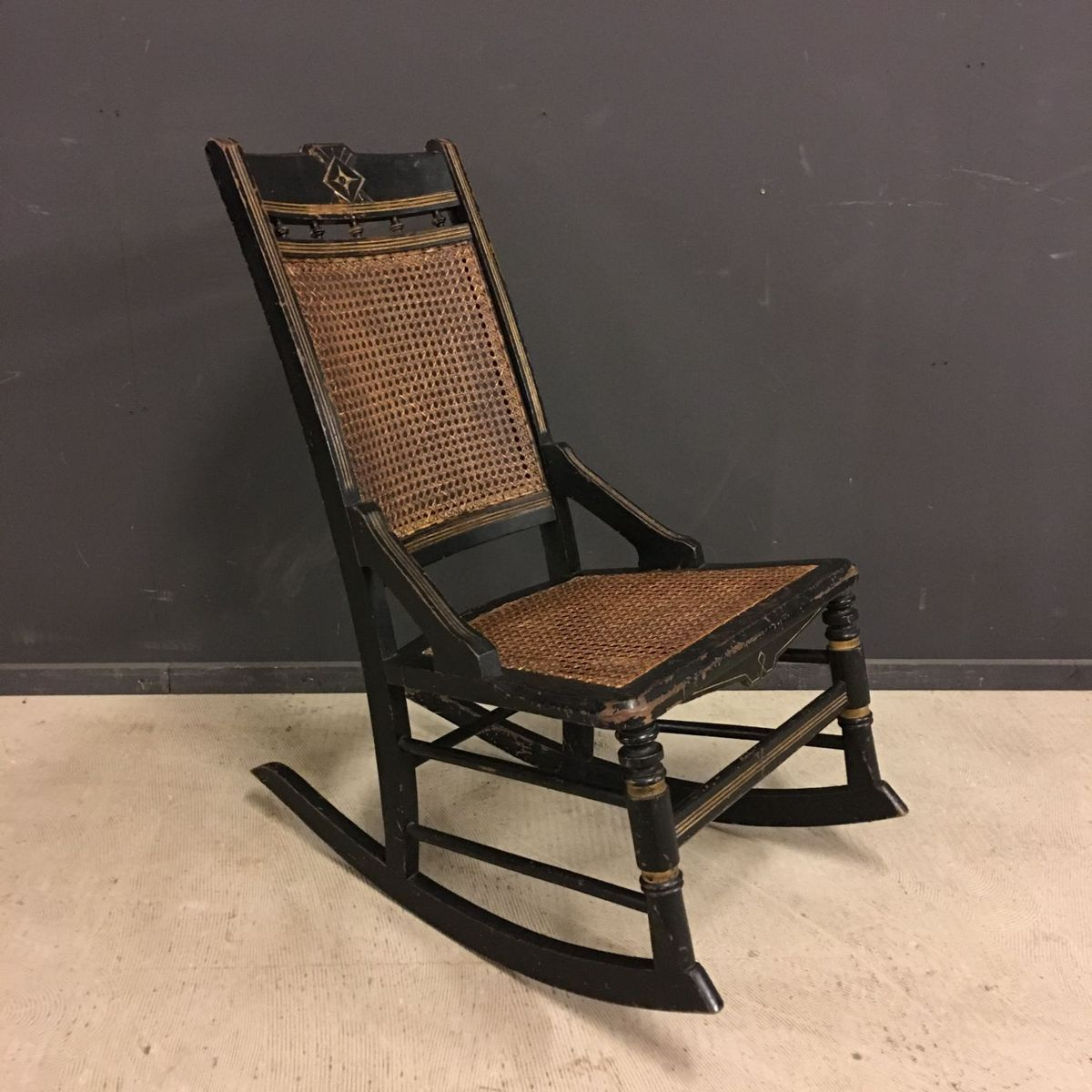 Antique commode chair - Antique Commode Chair
