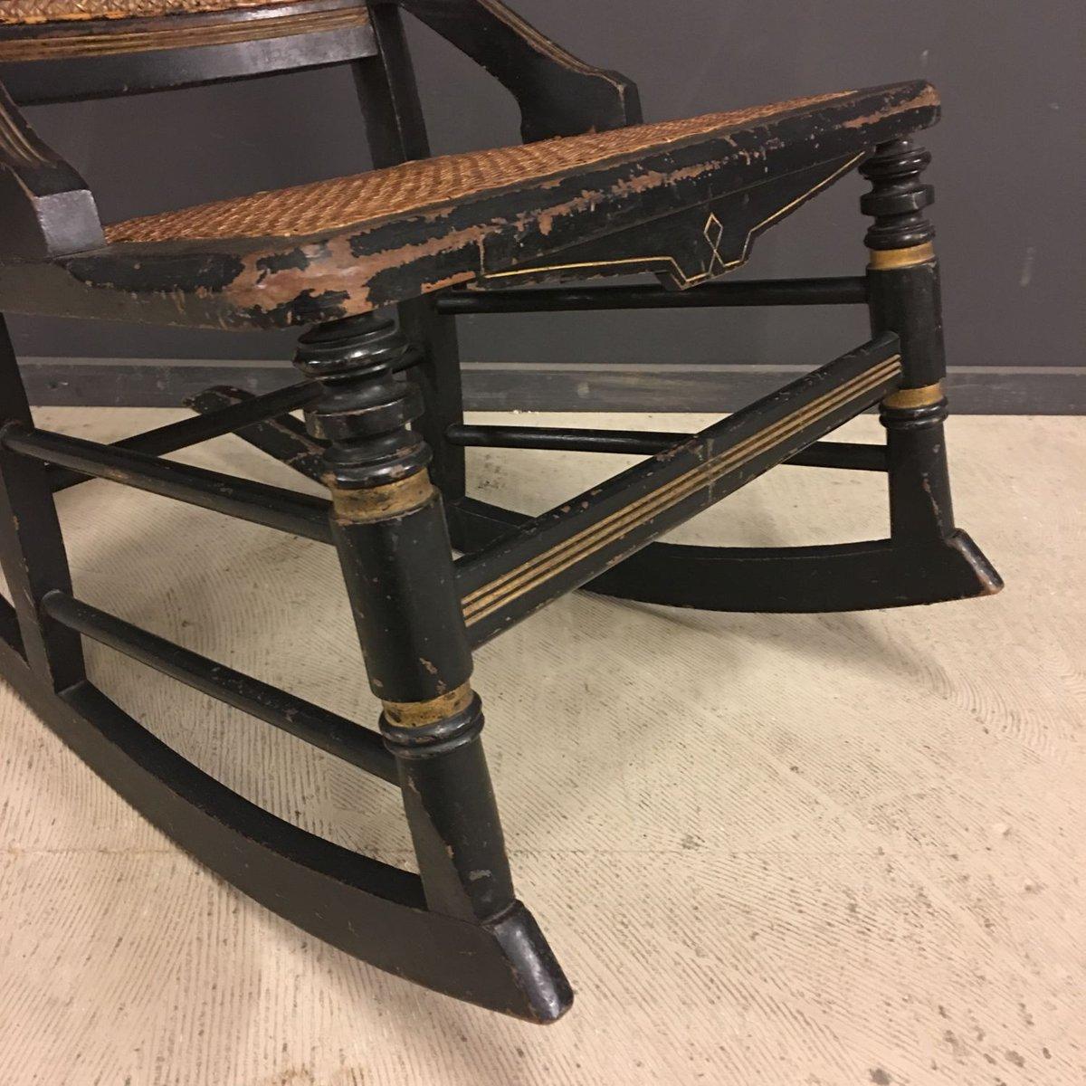 antiker franz sischer schaukelstuhl bei pamono kaufen. Black Bedroom Furniture Sets. Home Design Ideas