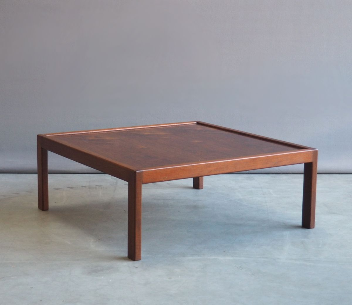 Low Rosewood Coffee Table 1960s For Sale At Pamono