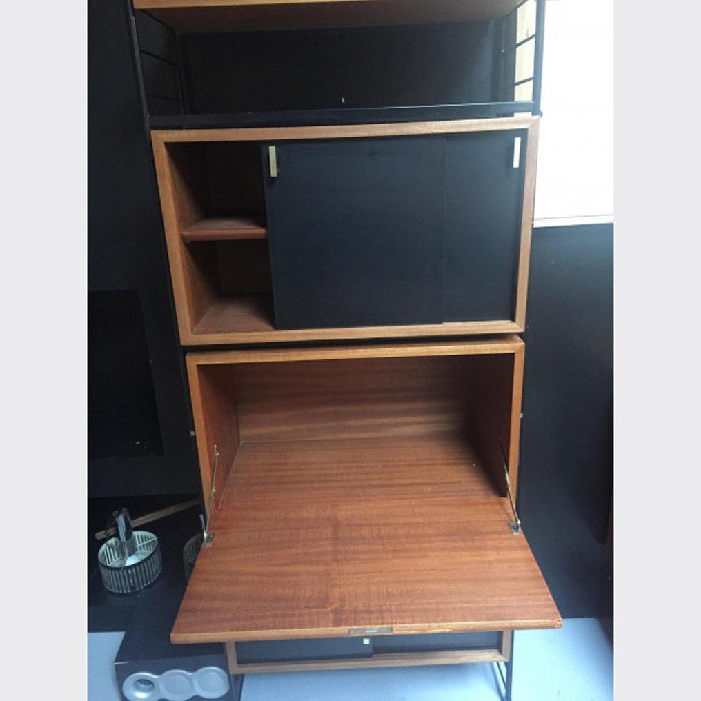 vintage regal aus holz bei pamono kaufen. Black Bedroom Furniture Sets. Home Design Ideas