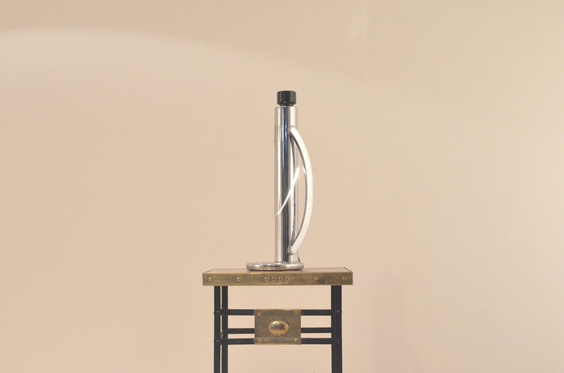 Spanish Tharsis Chrome Adjustable Telescopic Table Lamp From Fase, 1970s