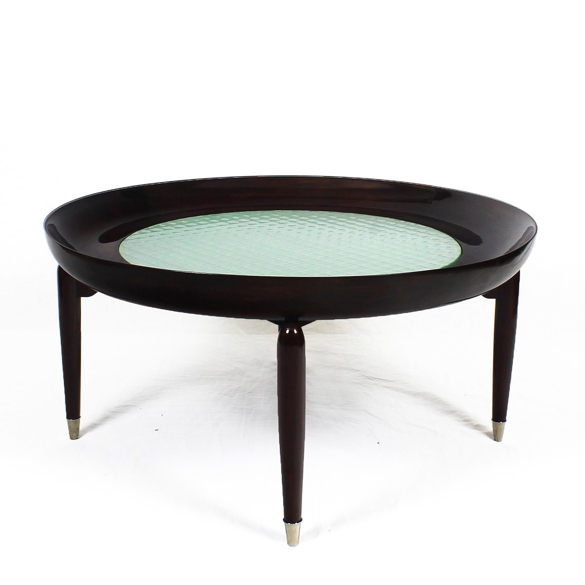 Round coffee table 1940s for sale at pamono for Round coffee tables for sale