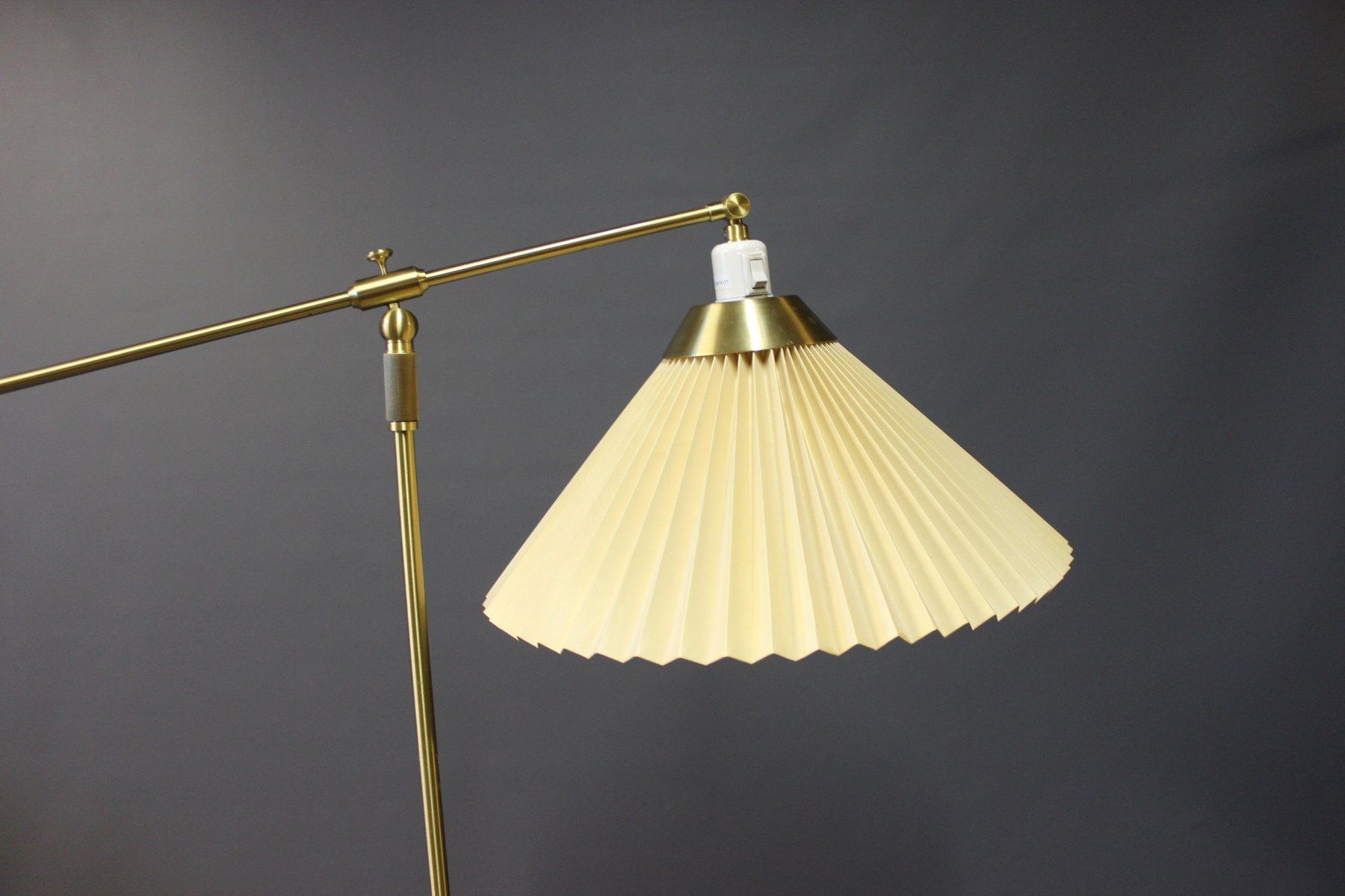 Model 349 Floor Lamp by Aage Petersen for Le Klint 1980s for sale