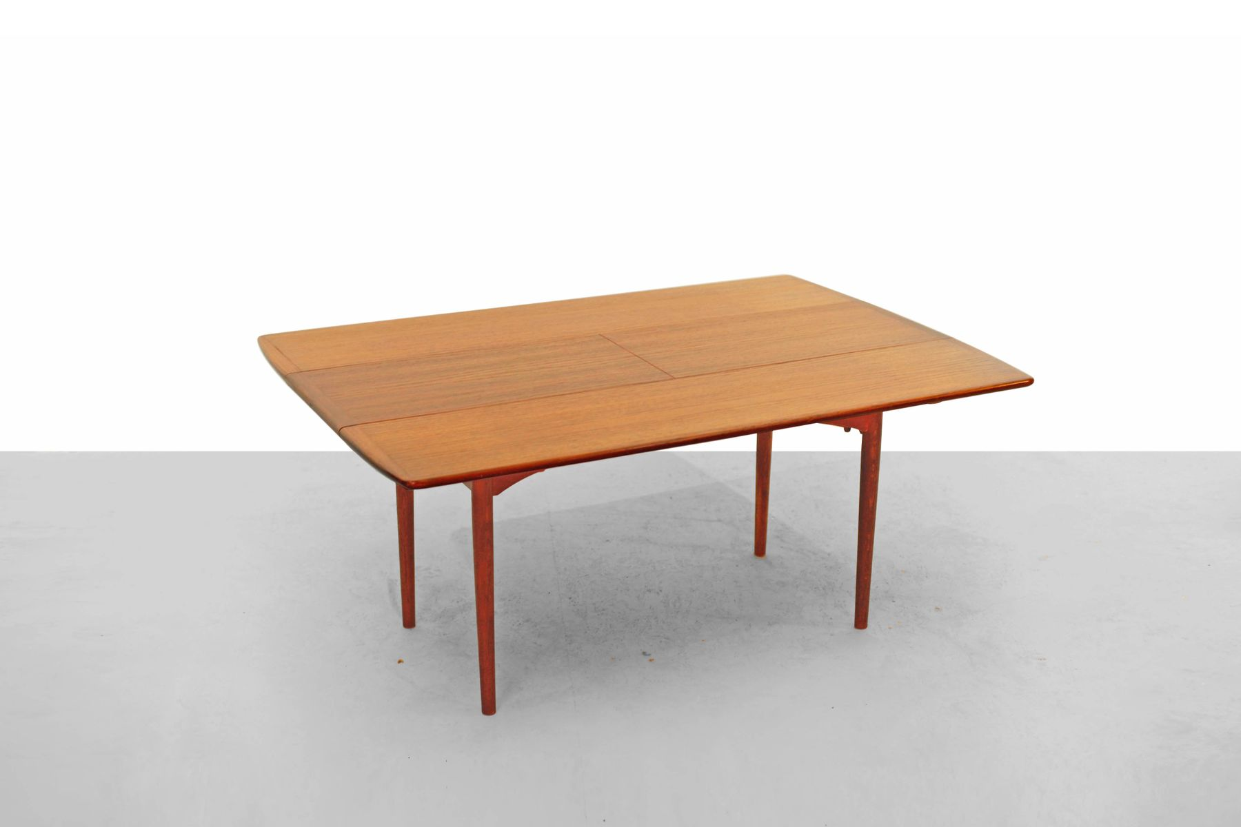 Teak coffee or dining table from haisch 1960s for sale at pamono Coffee table dining