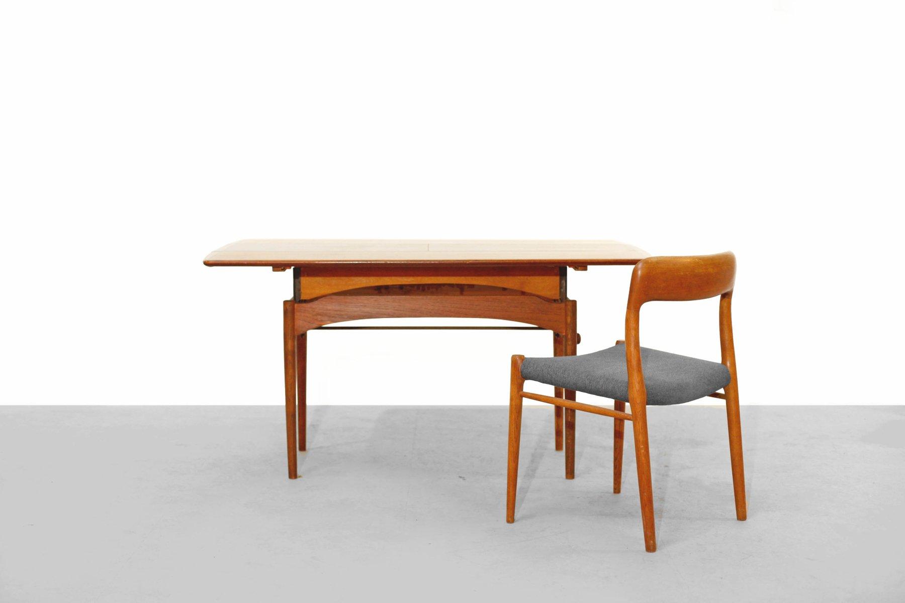 teak couch oder esstisch von haisch 1960er bei pamono kaufen. Black Bedroom Furniture Sets. Home Design Ideas