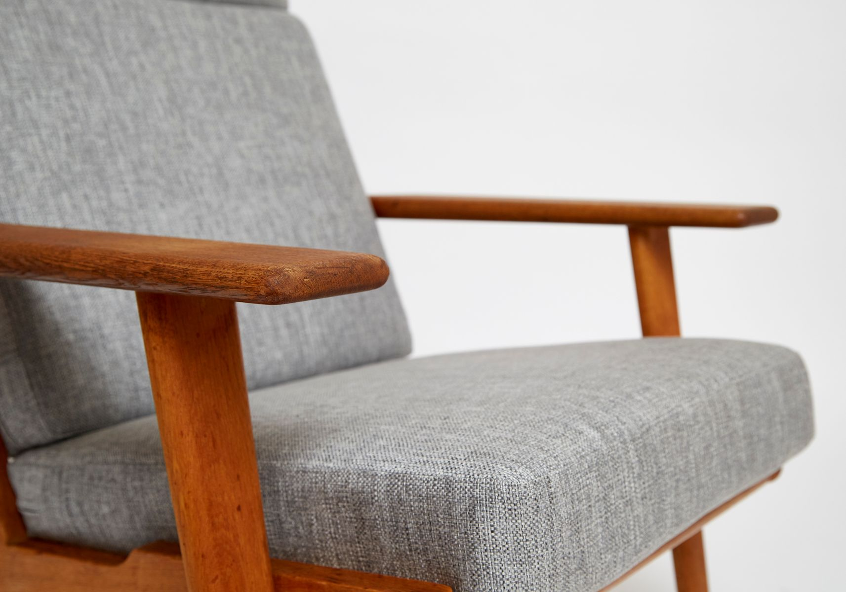 Danish Lounge Chair GE 290 The Plank by Hans J Wegner for Getama