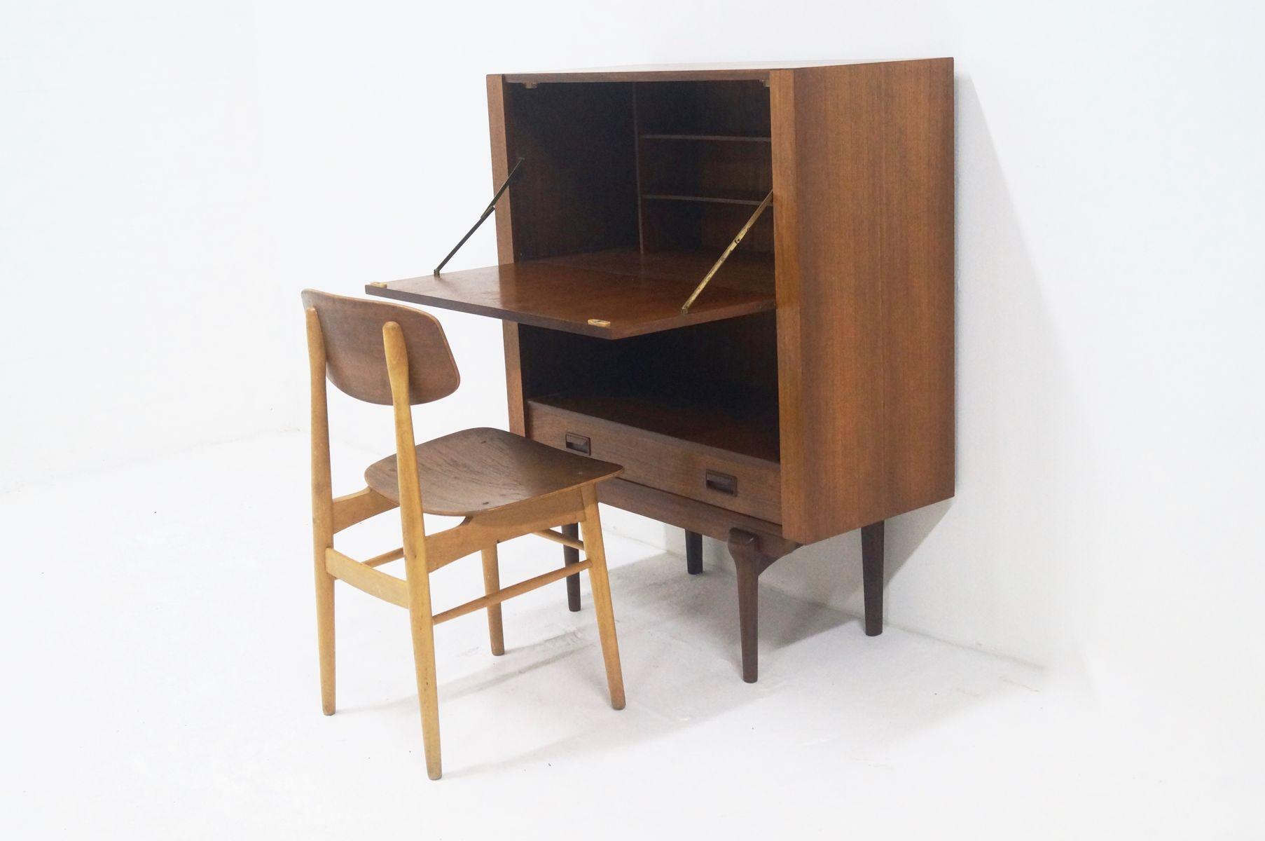 d nischer mid century teak sekret r 1960er bei pamono kaufen. Black Bedroom Furniture Sets. Home Design Ideas
