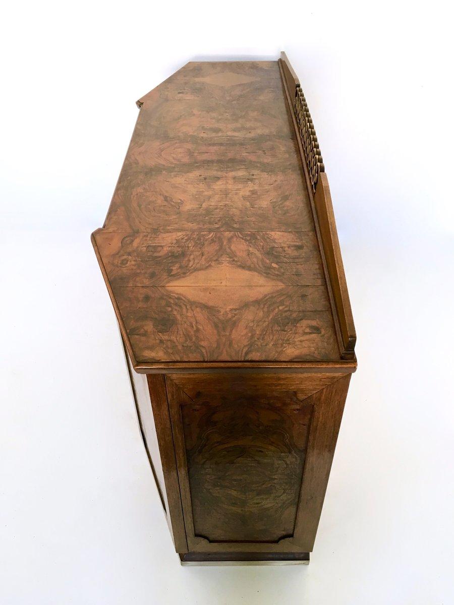 vintage nussholz barschrank bei pamono kaufen. Black Bedroom Furniture Sets. Home Design Ideas