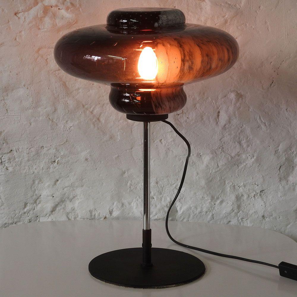 Murano Bubble Glass Table Lamp, 1960s