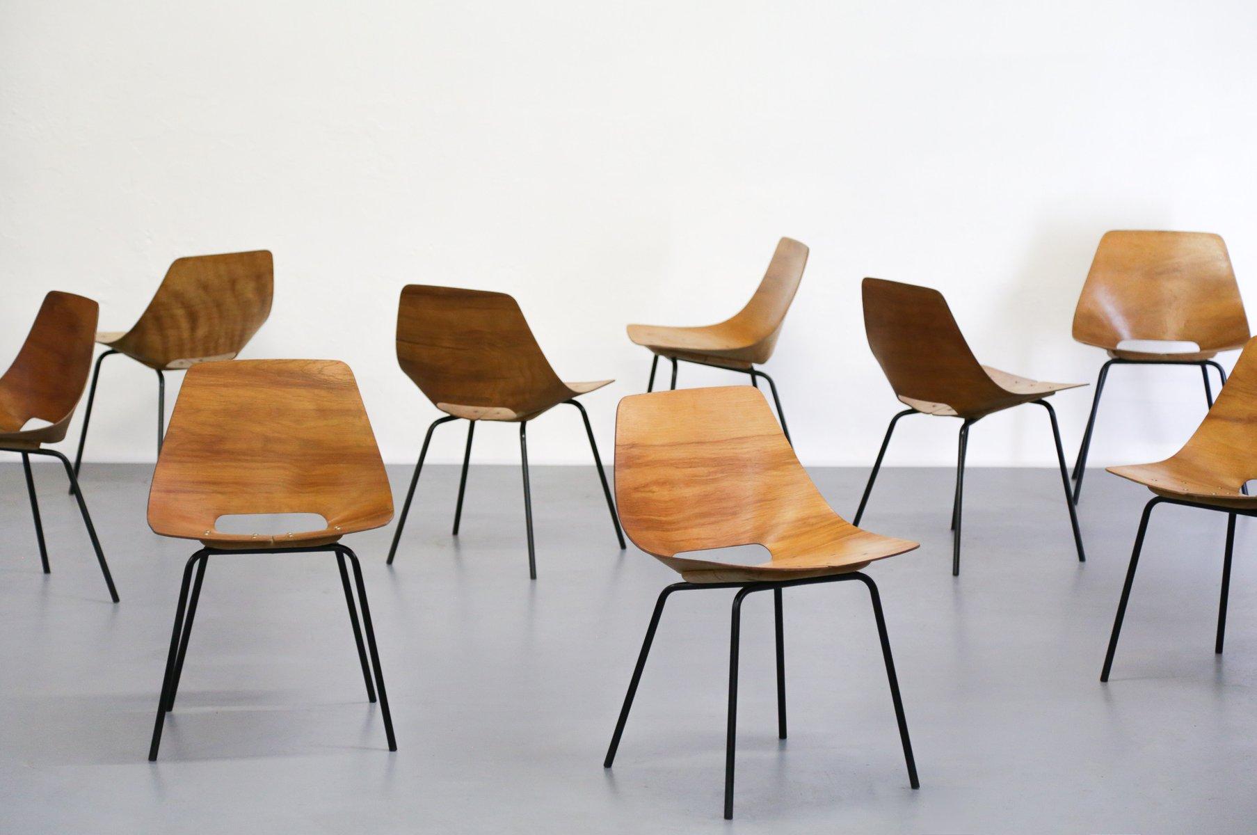 Sedie da pranzo design set di sedie tulip sala da pranzo for Sedia scandinava