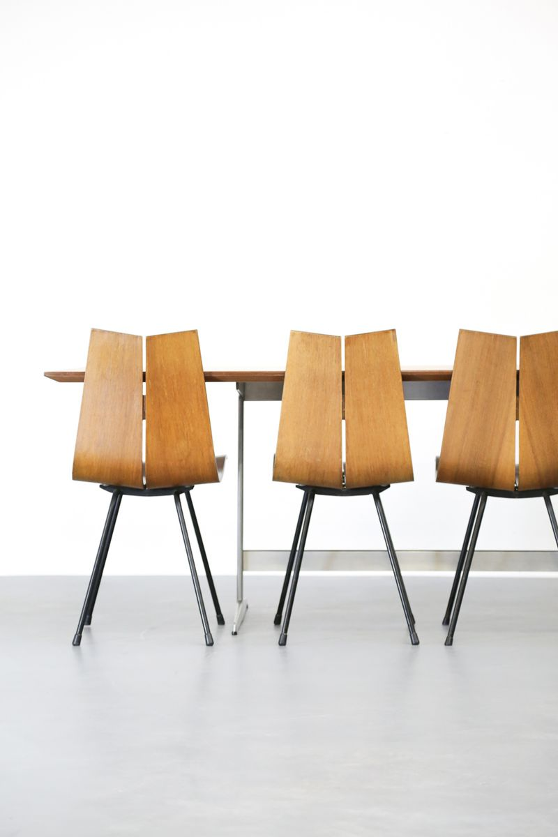 table de salon vintage par arne jacobsen pour fritz hansen. Black Bedroom Furniture Sets. Home Design Ideas