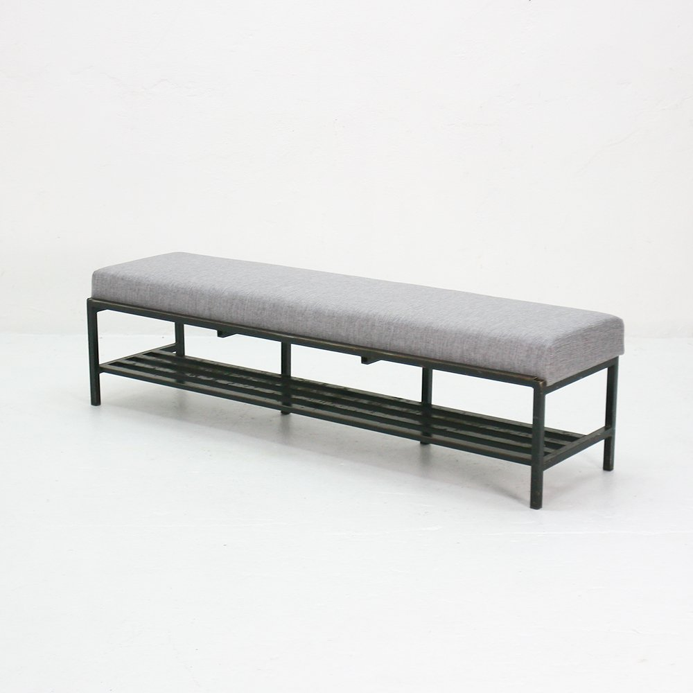 Upholstered bench 1960s for sale at pamono Padded benches