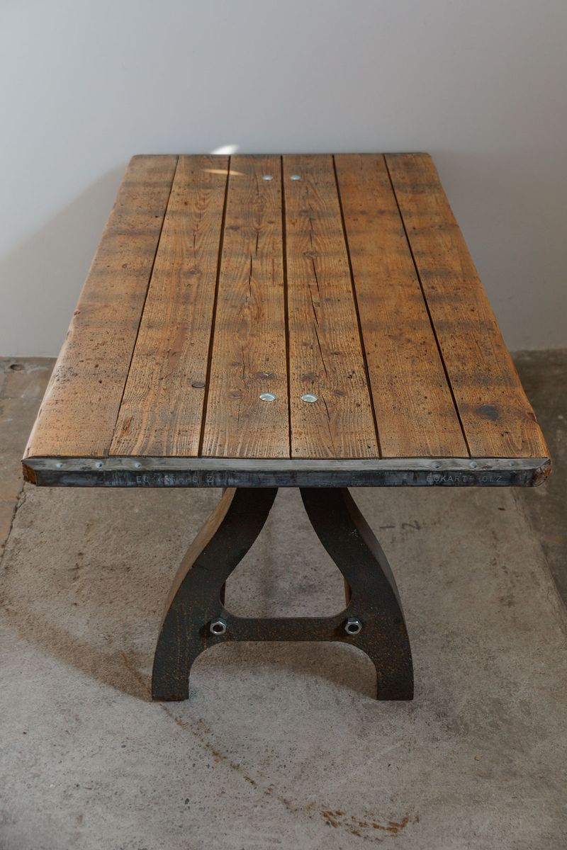vintage industrial machine coffee table for sale at pamono. Black Bedroom Furniture Sets. Home Design Ideas